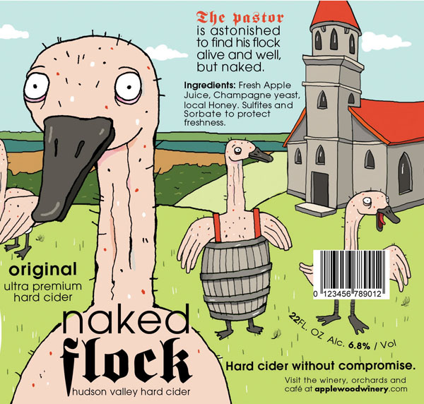 Naked-Flock-label