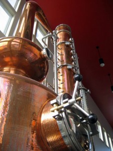 Finger Lakes Distilling's original still.
