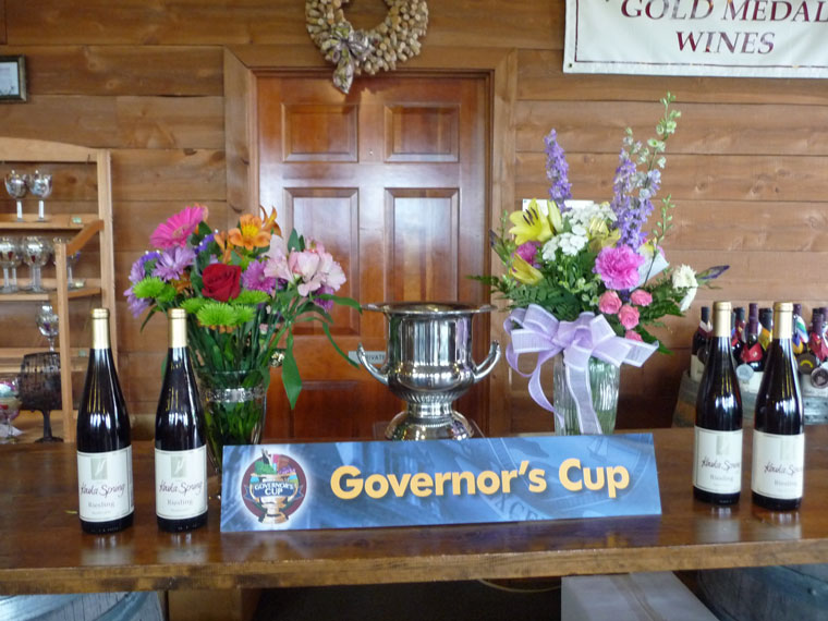 Keuka Springs Riesling Governors Cup 2013