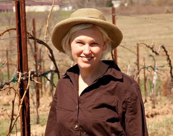 Robin Ross, Co-owner, Arrowhead Spring Vineyards