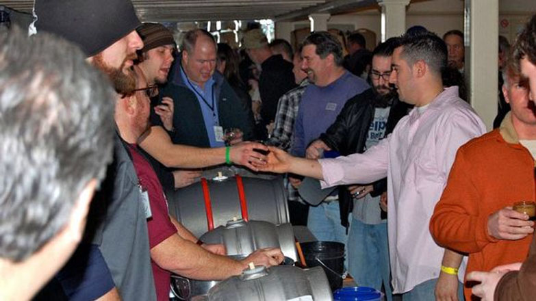 The scene at the 2012 Long Island Nano Cask Festival
