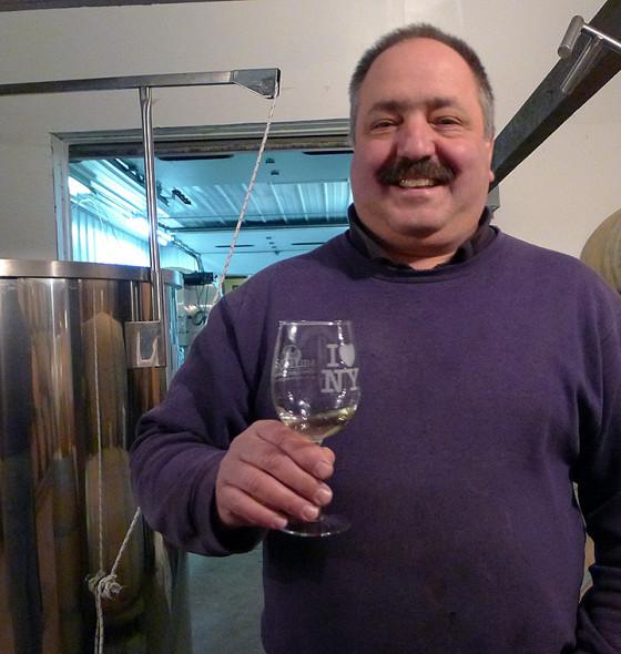 Winemaker John Graziano
