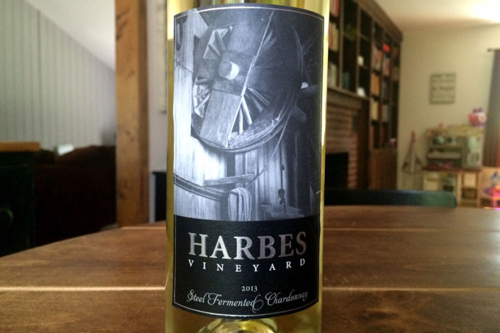 HarbesVineyard-2013steelchardonnay