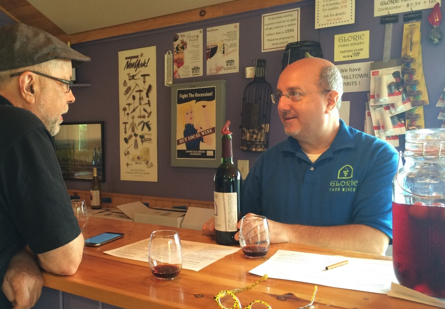 Glorie Farm Talking WIne With Mike