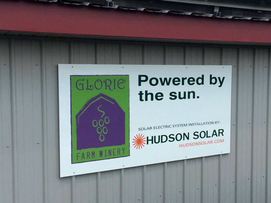 Glorie Farm Winery Powered By The Sun